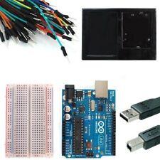 Starter Kit for Newsite UNO R3 Bundle of 6 Items Breadboard Holder Jumper Wires