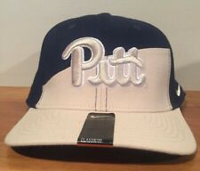 on sale e84c3 d03c0 NIKE PITTSBURGH PITT PANTHERS VERBIAGE FITTED HAT CAP SIZE MEDIUM-LARGE