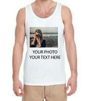 Custom Made Personalized Tank Top Photos on a shirt-CLEARANCE!