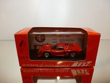 BEST  9114 ALFA ROMEO 33.2 PROVA  1968 - RED 1:43 - EXCELLENT IN BOX