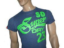Mens Superdry Keep It Tin Tab T-shirt Midnight Marl M
