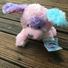 Webkinz Cotton Candy Puppy with Sealed code HM642 New With Tags Ganz