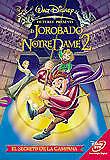 Pelicula DVD el jorobado de NotreDame 2 Walt Disney
