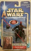STAR WARS ACTION FIGURE AOTC DARTH MAUL SITH TRAINING WITH SITH PROBE DROID