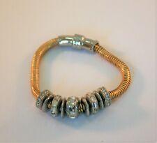 $45 Kenneth Cole New York Semiprecious Multi-Row Bracelet KC 693B