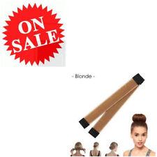 Bun Shaper For Hair Blonde Bun Maker French Twist Fold Wrap Snap Styling Tools