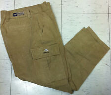 Vintage light brown Emerica skateboard cargo pocket pant Ed Templeton era sz 30