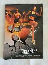 Beachbody INSANITY Insane Abs Max Interval Sports Training Set Of 5 Dvd