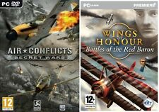 Wings Of Honour: Red Baron & Air Conflicts  Secret Wars  new&sealed