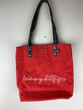 Tommy Hilfiger Women's Tote Bag Shoulder Red