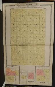 Iowa, Greene County Map Junction Township  1917  J7#99