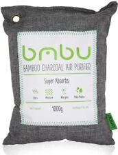 Bmbu 1000g Large Bamboo Charcoal Air Purifier Bag, Deodorizer and Air Freshener