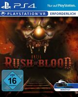 PS4 / Sony Playstation 4 Spiel - Until Dawn: Rush of Blood benötigt PSVR mit OVP