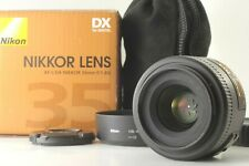 【Near MINT+3】Nikon NIKKOR AF-S DX 35mm F/1.8G Lens in BOX HOOD F/S from JAPAN