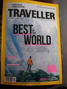 National Geographic Traveller Magazine Jan/Feb 2021 Best Of The World - New