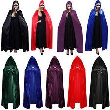 Halloween Cosplays Kostüm Umhang Samt Kapuze Faszinierend Vampir Zauberer Umhang