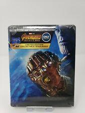 Marel's Avengers Infinity War SteelBook New Sealed!