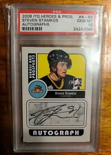 2008/09 In The Game Heroes and Prospects Steven Stamkos A-SS PSA 10 Gem Mint