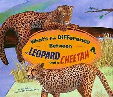 What's the Difference Between a Leopard and a Cheetah?-ExLibrary