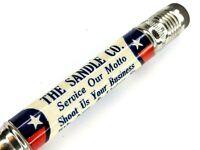 Sandle Co. Advertising Bullet Pencil USA Flag Patriotic 5th Ave. Union St. Vtg