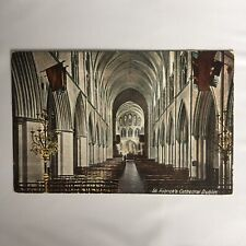 St. Patricks Cathedral Dublin Unposted Postcard