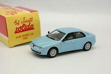Solido Hachette 1/43 - Alfa Romeo 156 1998 Azul