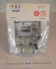 V&V Model 1/87 H0 Metal Bausatz Kit Tatra T2 - 603 (1969) OVP #3017