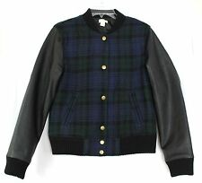 Women's Plaids Checks Wool Blend Coats & Jackets