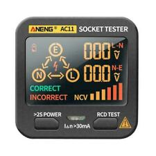 Smart Socket Tester Frequency Voltage Test Socket Detector Display Tool M7Z3