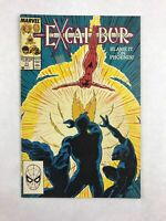 Excalibur Vol 1 No 11 August 1989 Comic Book Marvel Comics