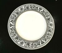 Beautiful Wedgwood Florentine Black Dinner Plate