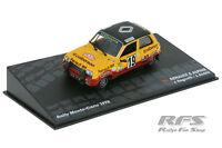 1:43 Renault 5 Alpine - Jean Ragnotti / Jean-Marc Andrie Rallye Monte Carlo 1978
