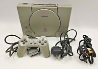Sony PlayStation PS1 AUDIOPHILE Video Game Console PAL COMPLETE TESTED