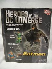 DC COMICS: BATMAN BUST HEROES UNIVERSE Statue DARK KNIGHT STATUE Superman