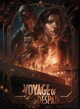 NAZI ZOMBIES VOYAGE OF THE DESPAIR LAMINATED A4 POSTER BLACK OPS CALL OF DUTY