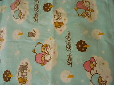 SANRIO LITTLE TWIN STARS HAND OR FACE TOWEL  CLOUD BLUE SKY STARS