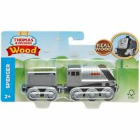 Fisher-Price Thomas & Friends Wood Spencer Engine Train Set GGG68 NEW