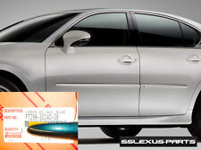Lexus GS350 GS450H (2013-2015) OEM BODY SIDE MOLDINGS SET (Meteor Blue) (8W3)