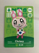 #300 Chrissy : Animal Crossing Amiibo Card Series 3 - AUTHENTIC - ACNH