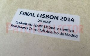 Final Lisbon 2014 24 May Real Madrid CF vs Club Atletico de Madrid Match Detail