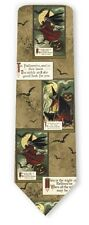 VINTAGE HALLOWEEN WITCHES ALL OVER SILK TIE 4710 s