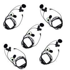 5pcs Motorcycle Helmet Finger PTT Headset  Mic for ICOM IC-F21 Walkie Talkie CO