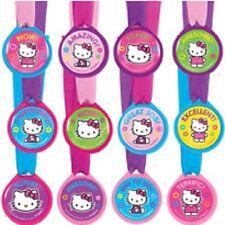 Hello Kitty Birthday Party Award Medals 12 pcs