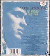 RARE 70s 80'S 2CDs+booklet PATXI ANDION Palabra por palabra A DONDE EL AGUA solo