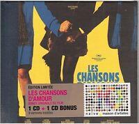 ALEX BEAUPAIN les chansons d'amour CD ALBUM 2cd dont 9 versions inédites NEUF