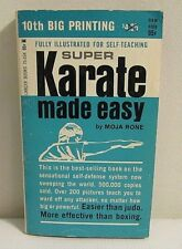 Vintage Super Karate Made Easy: Moja Rone: Pocket Book  (PB #11)