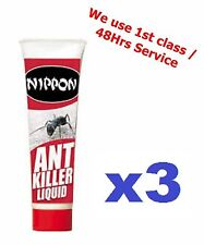 BRAND NEW NIPPON ANT/INSECT KILLER LIQUID 3x 25ml GEL