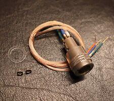 Technics Tonearm Headshell SME socket Connector + Hi-Fi PCOCC Wire
