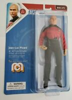 "STAR TREK CAPTAIN PICARD MEGO ACTION FIGURE 8"" SCI-FI. IN STOCK!"