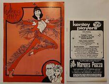 Walking Happy, Kenley Players Program and Advertisement program 1979